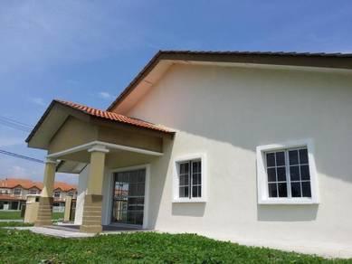 Rumah Baru Satu Tingkat Meru, dkt Jalan Iskandar