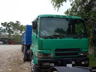 Mitsubishi Fuso FP510 Lorry Trailer with Credit