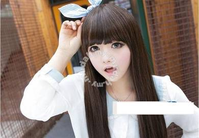 Lady Wig Long Straight Lovely Hair - LL495 BROWN