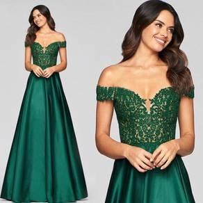 Green prom wedding bridal dress gown RBP1504