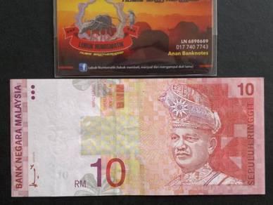 Duit Kertas RM10 8th Siri 8 Ahmad Don AB1930652