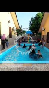 D sayang kolam renang homestay
