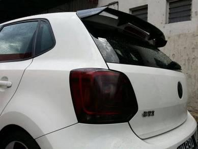 VW Volkswagen Polo 6 Gti bodykit Rear Spoiler