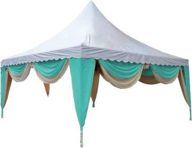 Canopy Arabian 20x20 ft 8butir