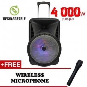 Trolley Portable Speaker MultiFuntion Rechargeable