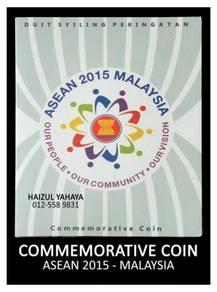 Syiling Peringatan - ASEAN 2015 Malaysia