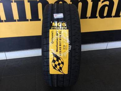 Tyre Continental MC6 215 45 17