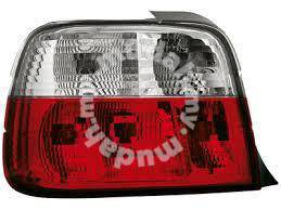 BMW E36 2D 4D tail lamp clear & red