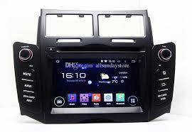 TOYOTA YARIS dvd player with gps new set