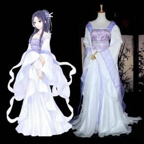 Purple white deity cosplay costume RB0434