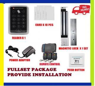 Door access/ card access security system -60yr