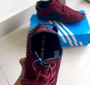 Adidas Yeesy Boost Maroon