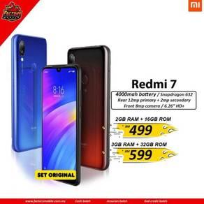 Xiaomi Redmi 7 Original Msia Set + gift RM1000