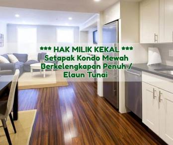 [Free 3 Years Installment] New Hotel Condo, Setapak [Freehold]