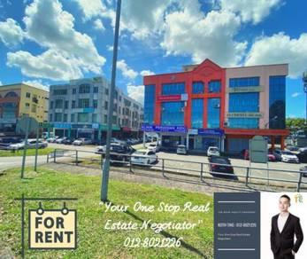 For Rent : 1st & 2nd Floor Commercial Shophouse at Jalan Kereta Api