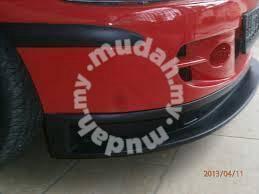 Proton satria gti front bumper fibre no paint