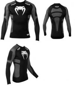 UFC MMA VENUM Compress Shirt Grey ( baju sports )