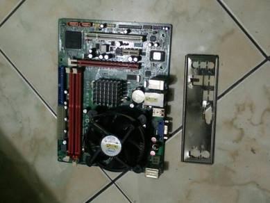 Combo core2duo E7500 ddr3