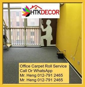Classic Plain Design Carpet Roll with Install C8MQ