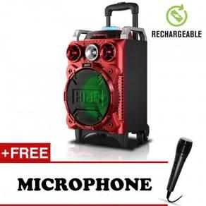 Trolley Wireless Bass Speaker MultiFuntion Recharg