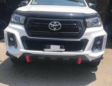 Toyota hilux revo rocco rbs skirt bumper bodykit