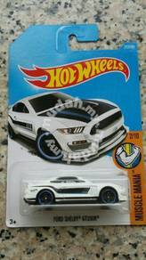 HotWheels Ford Shelby GT350R White