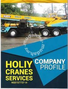 Sewa mobile crane / Rental mobile crane / Skylift