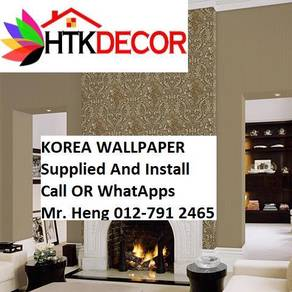Simple Design With Wall paper with Install 86JM