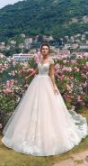 White fishtail wedding bridal dress gown RB1638
