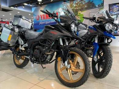 KTNS RS3 250 With Side Top Box ~ Adventure