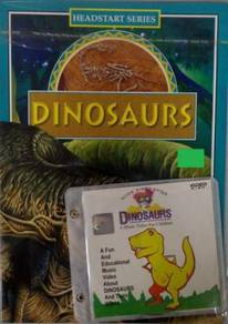 VCD Dinosaurs + A Music Video For Children Dinosau