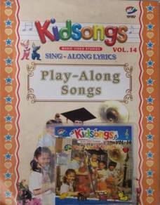 VCD Kidsongs Play Along Songs Vol.14 VCD With Book