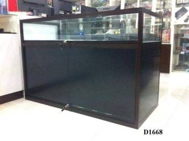 D1668 Aluminium Glass Display cabinet 48*36*18