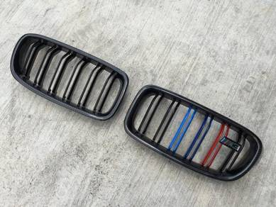 BMW F32 Grille M4 Tri Color Carbon Fiber Grill