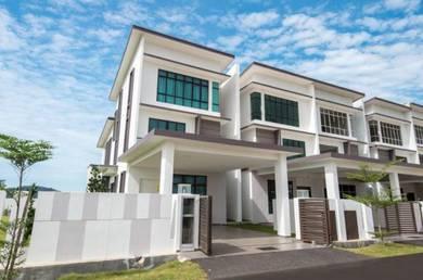 2.5 Tingkat Superlink Terrace (24' x 77.5') untuk dijual