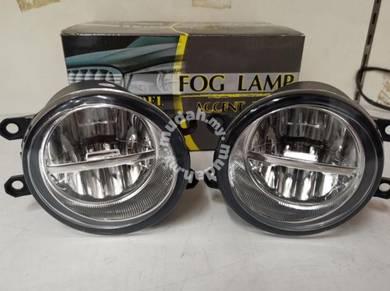 Toyota vios altis camry led fog lamp light