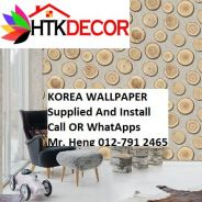 PVC Vinyl Wall paper with Expert Install 52OL