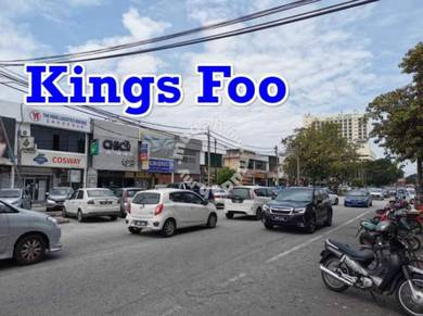 CHAI LENG PARK,Prai Commercial shop house FOR SALE (WORTH BUYING)