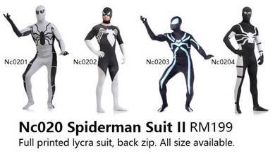Spiderman Suit II III IV