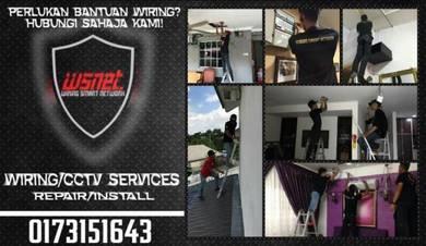Service Repair / Pemasangan HD CCTV & WIRING cv.4