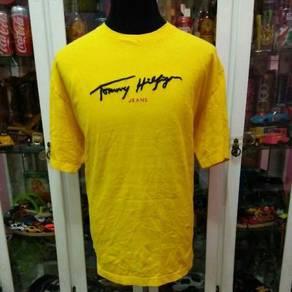 Vintage 90's Tommy Hilfiger Jeans Big Logo T Shirt
