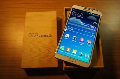 Samsung galaxy note 3 white colour ori