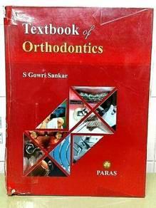 Textbook of Orthodontics S Gowri Sankar Ist edtn