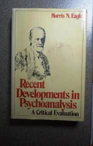 Recent Development in Psychoanalysis