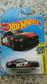 HotWheels 2015 Ford Mustang GT Borla Black