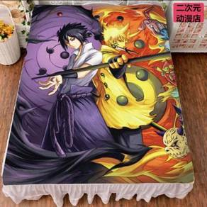 Naruto bed sheet