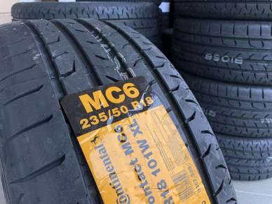 Tayar baru 235 50 18 continental MC6 promotion