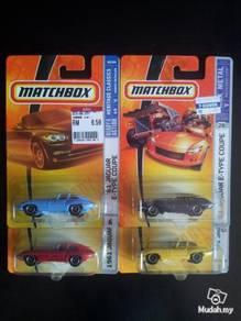 Matchbox Jaguar E-Type Coupe not Hotwheels