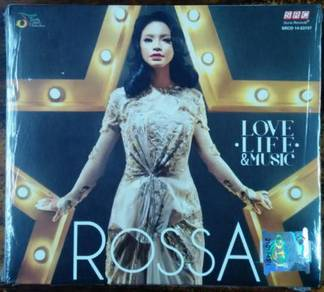 CD ROSSA Love Life And Music