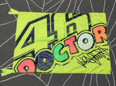 Bendera Valentino Rossi 46 The Doctor Motogp